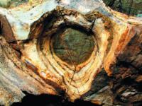 Chýnovská jeskyně Purkyňovo oko