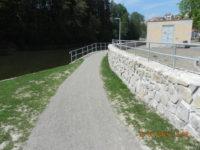 Cyklostezka u řeky Lužnice